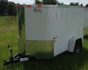 Single axle enclosed trailer for sale