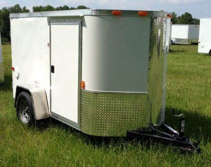 5 X 12 Enclosed Cargo Trailer - Single Axle (Ranger Series)