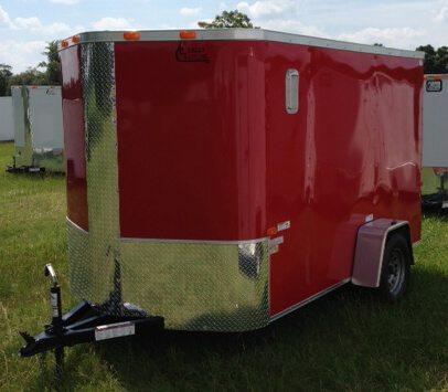 6 X 14 Enclosed Cargo Trailer - Single Axle (Elite V)
