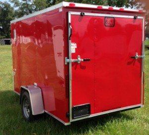 6 ft enclosed cargo trailer