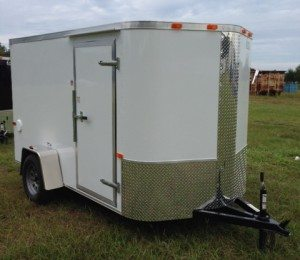 6 ft enclosed cargo trailer