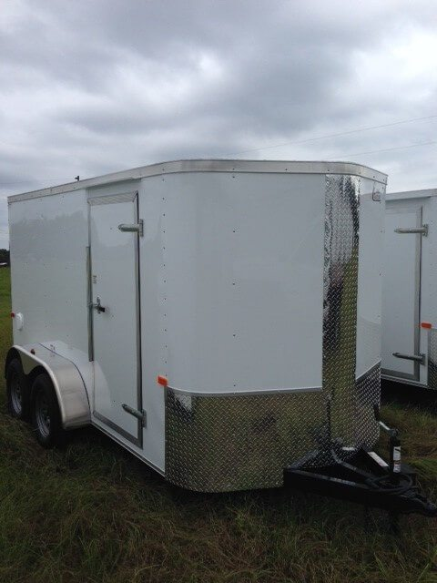 7 ft enclosed cargo trailer ta1