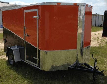 7 X 14 Enclosed Cargo Trailer - Single Axle (Ranger Series)