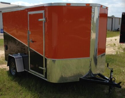 7' Wide Motorcycle Trailer