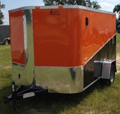 7 X 12 Enclosed Cargo Trailer - Single Axle (Ranger Series)