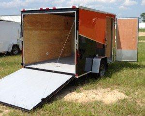 7 ft enclosed cargo trailer