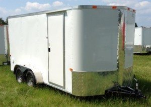 7 ft enclosed cargo trailer