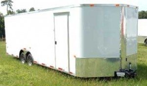 Tandem Axle Enclosed Trailer for Sale