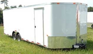 auto carrier/car hauler trailers