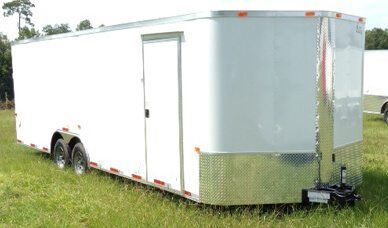 8.5 ft enclosed cargo trailer