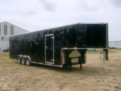 85 ft enclosed cargo trailer 1