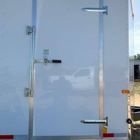 36 Inch Flush Key Lock Side Door (For Elite Auto Carriers)