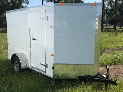 6 X 12 Enclosed Cargo Trailer Single Axle Ranger Series