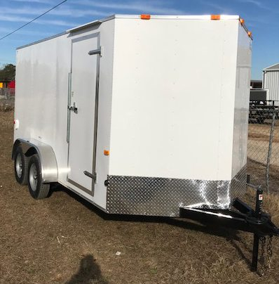 6 X 12 Enclosed Cargo Trailer Tandem Axle Ranger Series