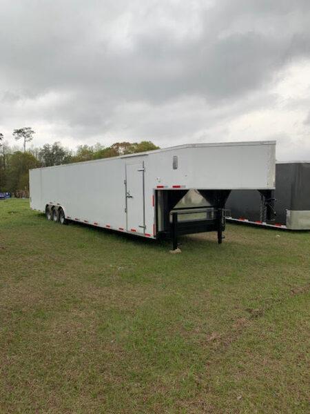 8.5 X 53 Gooseneck Auto Carrier - Car Hauler Trailer
