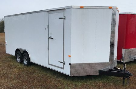 8.5 X 12 Enclosed Cargo Trailer - Tandem Axle (Ranger Series)