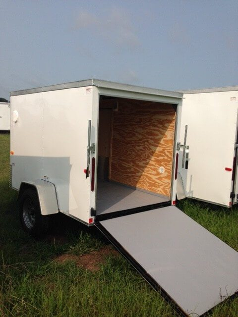 7 X 10 Enclosed Cargo Trailer Single Axle Ranger Series