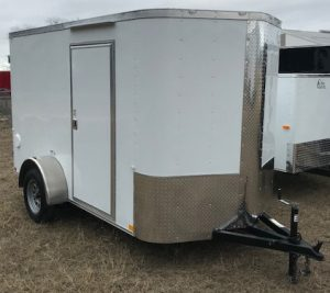 6 x 12 enclosed trailer