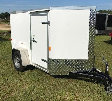 5 X 10 Enclosed Cargo Trailer - Single Axle (Ranger Series)