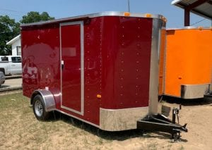 Red Trailers for Sale