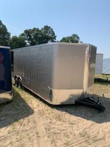 8.5' wide trailer
