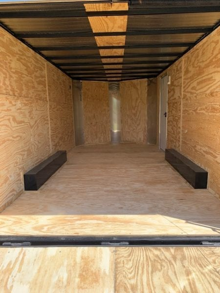 8.5 X 28 Enclosed Cargo Trailer - Tandem Axle (Elite V)