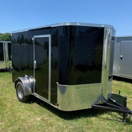 7 X 16 Enclosed Cargo Trailer - Single Axle (Elite V)