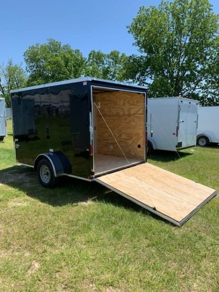 7' Wide Trailer Rear Ramp