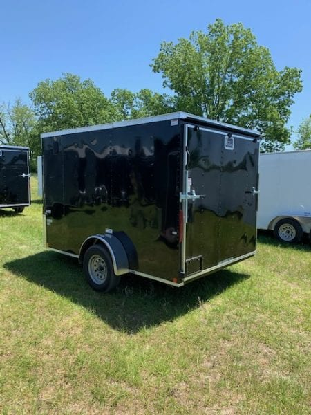7' Wide Trailer Rear